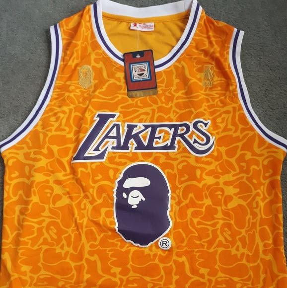 930525a5ddb Bape Shirts | Lakers Jersey | Poshmark